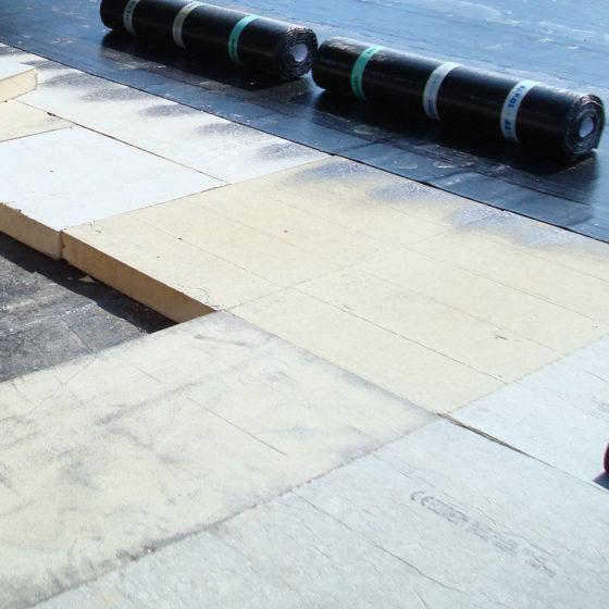 Isolation des toitures plates à Woluwe