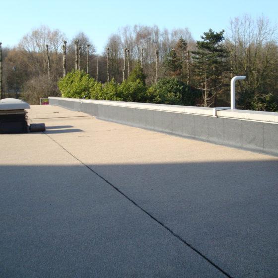 Roofing toit plat pour parking Bruxelles