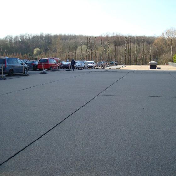Rénovation de toiture parking pour magasin