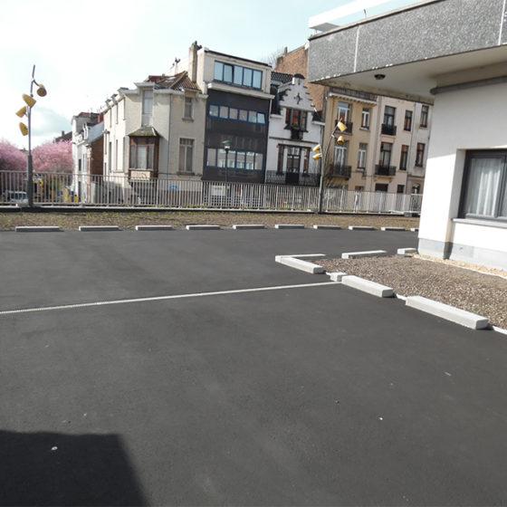 Toiture parking Watermael Boitsfort