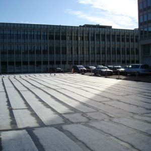 Toiture parking Neder Over Hembeek
