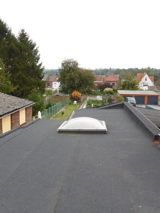 membrane isolante sur toiture plate binche