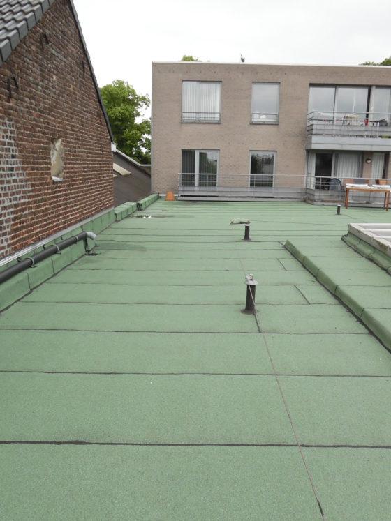 Membrane EPDM sur toit plat à Bruxelles