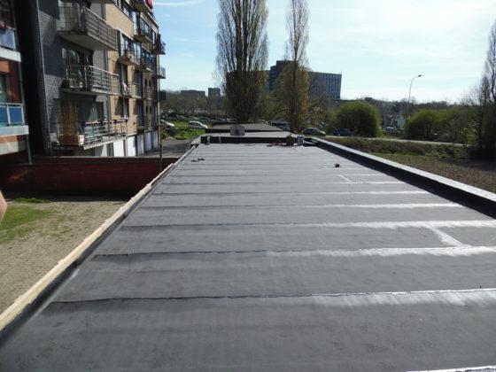 revêtement et isolation de toiture plate à la louvière