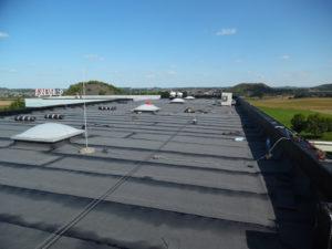 Réalisation toit plat région de Tournai
