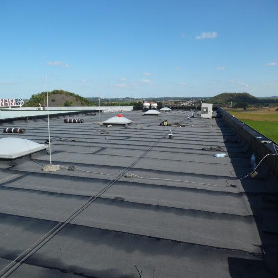 rénovation d'une toiture plate en Hainaut