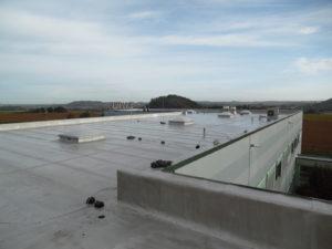Réalisation isolation et étanchéité toit plat